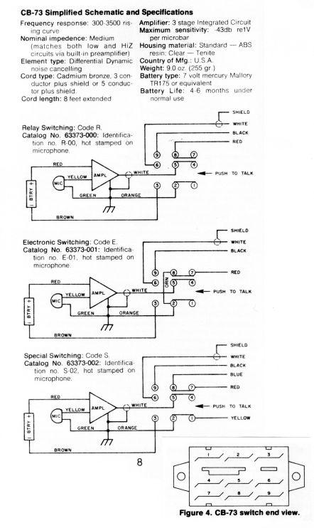 anybody run a telex double header on am ssb help transmission1 rh transmission1 net CB Mic Wiring Diagrams Microphone Jack Wiring Diagram